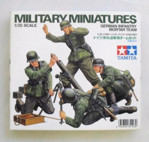 TAMIYA 1/35 35193 GERMAN INFANTRY MORTAR TEAM
