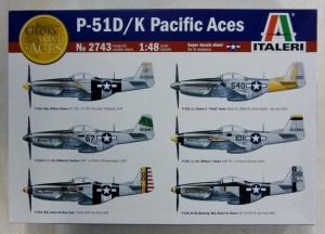 ITALERI 1/48 2743 P-51D/K PACIFIC ACES