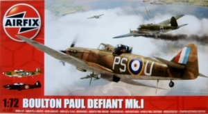 AIRFIX 1/72 02069 BOULTON PAUL DEFIANT Mk.I