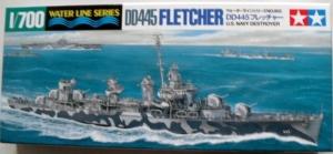 TAMIYA 1/700 31902 DD445 USS FLETCHER