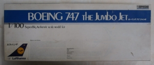 DOYUSHA 1/100 100-B4 BOEING 747 LUFTHANSA  UK SALE ONLY