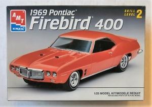 AMT/ERTL 1/25 6123 1969 PONTIAC FIREBIRD 400