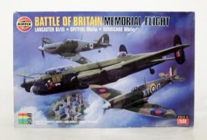 AIRFIX 1/72 10999 BATTLE OF BRITAIN MEMORIAL FLIGHT 50th ANNIVERSARY