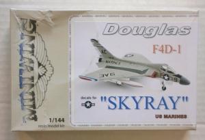MINIWINGS 1/144 077 DOUGLAS F4D-1 SKYRAY US MARINES