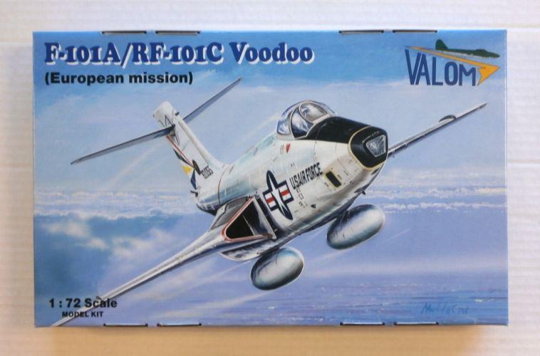 VALOM 1/72 72119 F-101A/RF-101C VOODOO  EUROPEAN MISSION