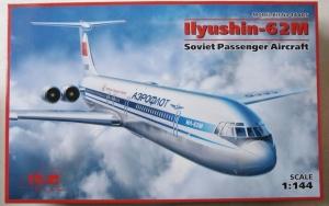 ICM 1/144 14405 ILYUSHIN IL-62M SOVIET PASSENGER AIRCRAFT