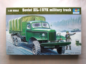 TRUMPETER 1/35 01003 ZIL-157K MILITARY TRUCK w/CANVAS ROOF