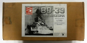 TOMS MODELWORKS 1/350 USS ARIZONA BB-39