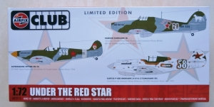 AIRFIX 1/72 82013 UNDER THE RED STAR SPITFIRE Mk.Vb HURRICANE IIB P-40B