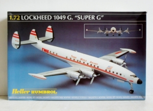 HELLER 1/72 80314 LOCKHEED 1049G. SUPER CONSTELLATION