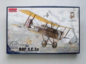 RODEN 1/72 045 RAF S.E.5A WOLSELEY VIPER