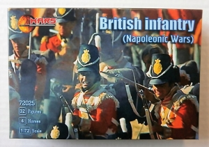 MARS 1/72 72025 BRITISH INFANTRY  NAPOLEONIC WARS