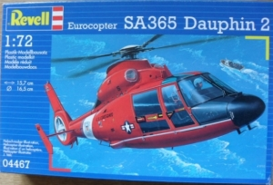 REVELL 1/72 04467 EUROCOPTER SA365 DAUPHIN 2