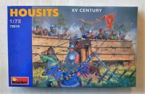 MINIART 1/72 72010 HOUSITS XV CENTURY
