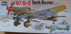 REVELL 1/72 H142 JUNKERS Ju 87 G-2 TANK BUSTER
