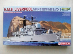 DRAGON 1/700 7069 HMS LIVERPOOL PREMIUM EDITION