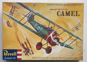 REVELL  H197 SOPWITH CAMEL S BOXING