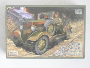 IBG MODELS 1/72 72008 POLISH FIAT 508/III LATE VERSION