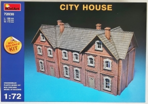 MINIART 1/72 72030 CITY HOUSE