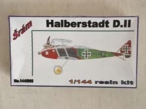 SRAM 1/144 005 HALBERSTADT D.II