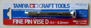 TAMIYA  74050 FINE PIN VISE D  0.1-3.2mm