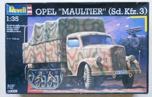 REVELL 1/35 03026 OPEL MAULTIER