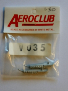 AEROCLUB 1/72 V035 HEDGEHOG TYPE HERCULES EXHAUST x 2