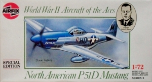 AIRFIX 1/72 02089 NORTH AMERICAN P-51D MUSTANG SPECIAL EDITION