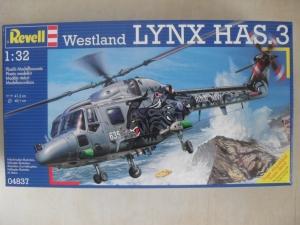 REVELL 1/32 04837 WESTLAND LYNX HAS.3