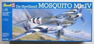 REVELL 1/32 04758 DE HAVILLAND MOSQUITO Mk.IV
