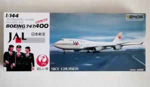 DOYUSHA 1/144 BOEING 747-400 JAL