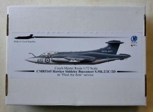 CZECH MASTER RESIN 1/72 165 HAWKER SIDDELEY BUCCANEER S.Mk.2/2C/2D IN FLEET AIR ARM SERVICE
