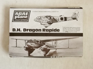 RAREPLANE 1/72 D.H.89a DRAGON RAPIDE