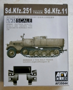 AFV CLUB 1/35 35044 Sd.Kfz.251 Sd.Kfz.11 EARLY MODEL TRACK