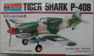 MONOGRAM 1/48 6803 P-40B TIGERSHARK