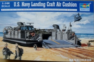 TRUMPETER 1/144 00107 USN LANDING CRAFT AIR CUSHION