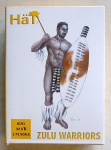 HAT INDUSTRIES 1/72 8191 ZULU WARRIORS