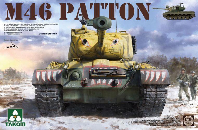 TAKOM 1/35 2117 M46 PATTON