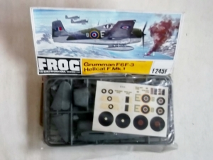 FROG 1/72 F245F GRUMMAN F6F-3 HELLCAT F.Mk.I