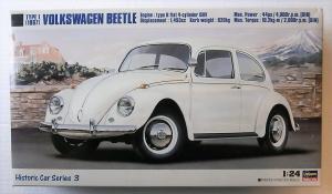 HASEGAWA 1/24 HC-3 VOLKSWAGEN BEETLE TYPE 1  1967