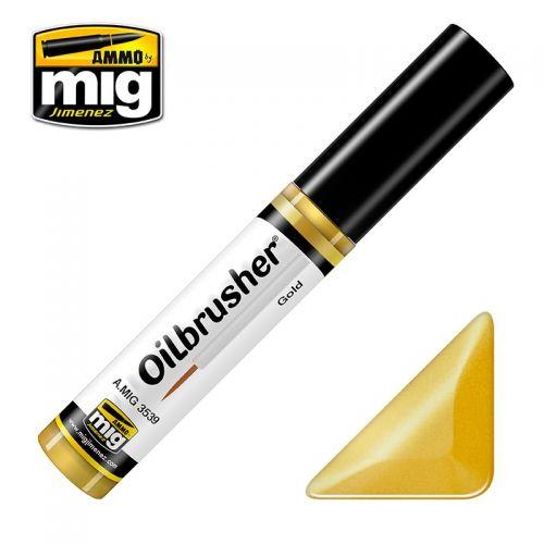AMMO BY MIG JIMENEZ  3539 GOLD OILBRUSHER