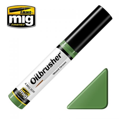 AMMO BY MIG JIMENEZ  3530 WEED GREEN OILBRUSHER