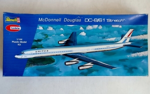 REVELL 1/144 H270 McDONNELL DOUGLAS DC-8/61 STRETCH UNITED
