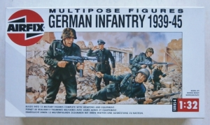 AIRFIX 1/32 04582 GERMAN INFANTRY 1939-45  MULTIPOSE  12 FIGURES