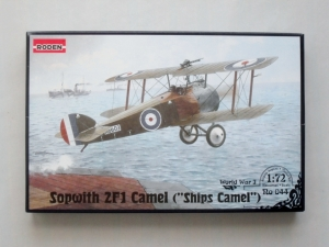 RODEN 1/72 044 SOPWITH 2F.1 CAMEL SHIPBORNE