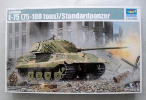 TRUMPETER 1/35 01538 GERMAN E-75  75-100 TONS  STANDARDPANZER