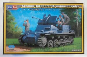 HOBBYBOSS 1/35 80147 GERMAN FLAKPANZER  IA w/AMMO TRAILER