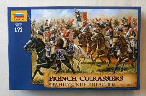ZVEZDA 1/72 8037 FRENCH CUIRASSIERS