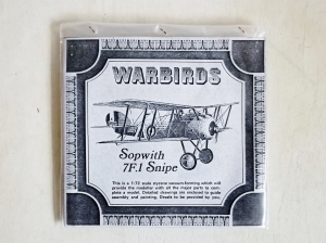 WARBIRDS 1/72 SOPWITH 7F.1 SNIPE