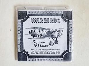 WARBIRDS 1/72 SOPWITH 7F.1 SNIPE